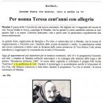 Unione Sarda Mandas, 30 Marzo 2000